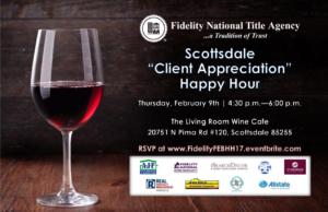 Scottsdale Client Appreciation Happy Hour